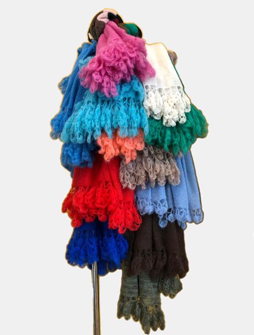 sciarpe colori vari